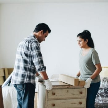 how to safely move antique furnitures